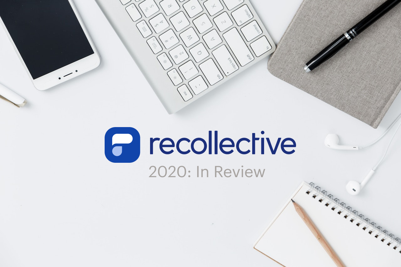 Recollective 2020 Product Update Cover