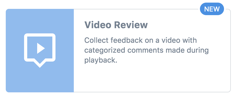 Video Review Task