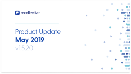 Product Update May 2019