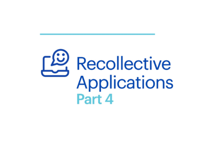 Webinar Recollective Applications Part 4 Cover